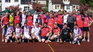 Handball beim Austausch 2012